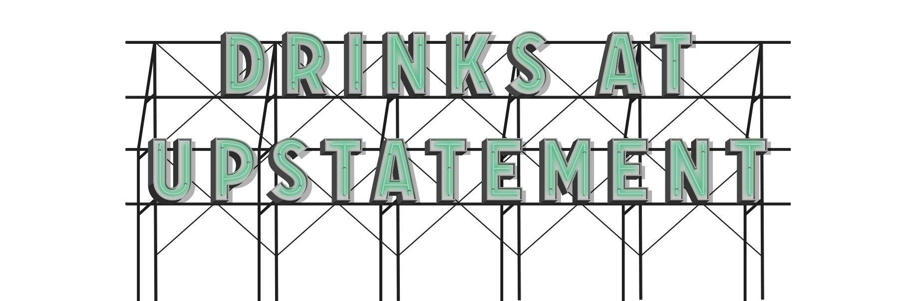 drinks sign neon