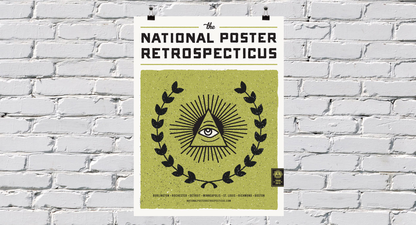 National Poster Retrospecticus Poster