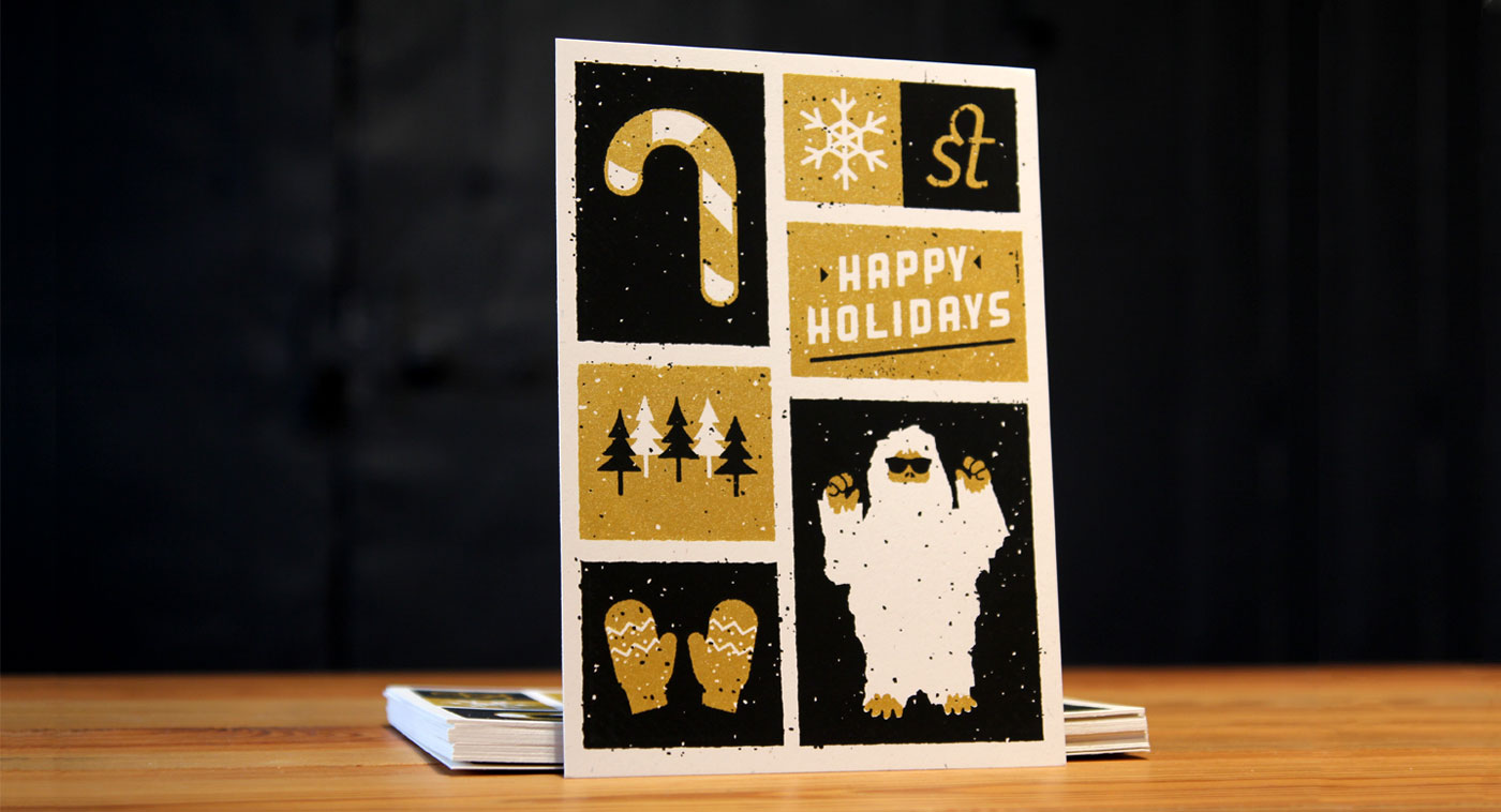 Upstatement Holiday Card
